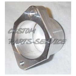 Flange for air mass meter