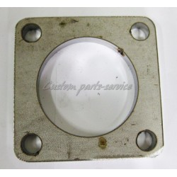 Downpipe flange stainless