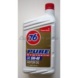 Pure Synthetic Motor Oil 5W-40