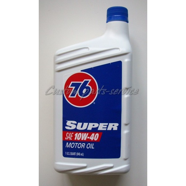 76 Super Synthetic Blend 10w 30 Custom Parts Service