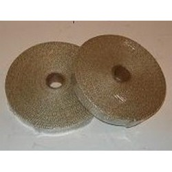 Avgasbandage beige 75 mm