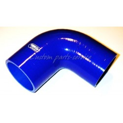 Silicone hose Blue 90 degree