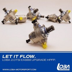 Upgrade High Pressure Fuel Pump for VAG 2.0 TSI EA888, (with Hitachi Pump)