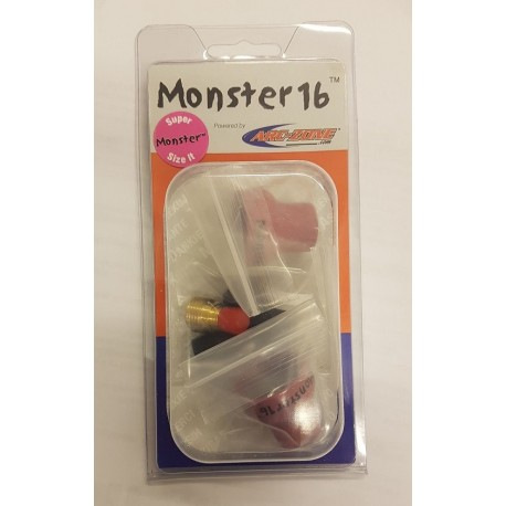 Monster16 TIG Nozzle Kit, 1/16' (1.6mm)