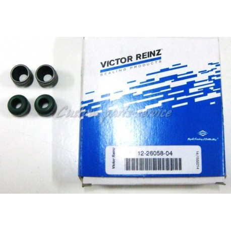 Valve stem seals, 7 mm Audi 5 cyl 20v