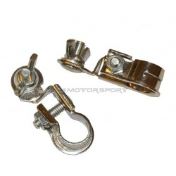 Battery Terminal Pair, Lead Free Clamp Style